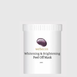 Whitening & Brightening peel off mask 200 gram